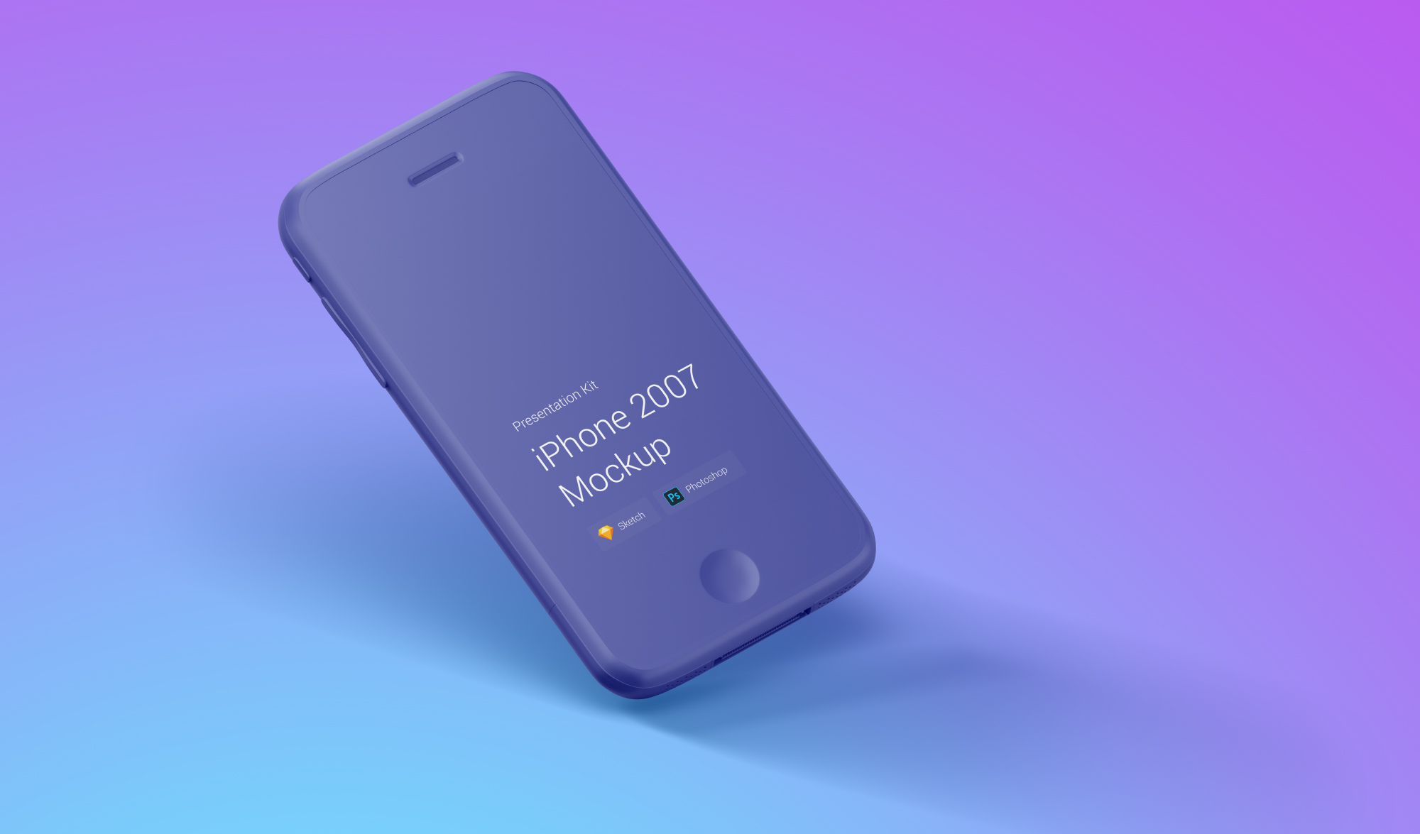 Download iPhone 2007 Mockups for Sketch and Photoshop