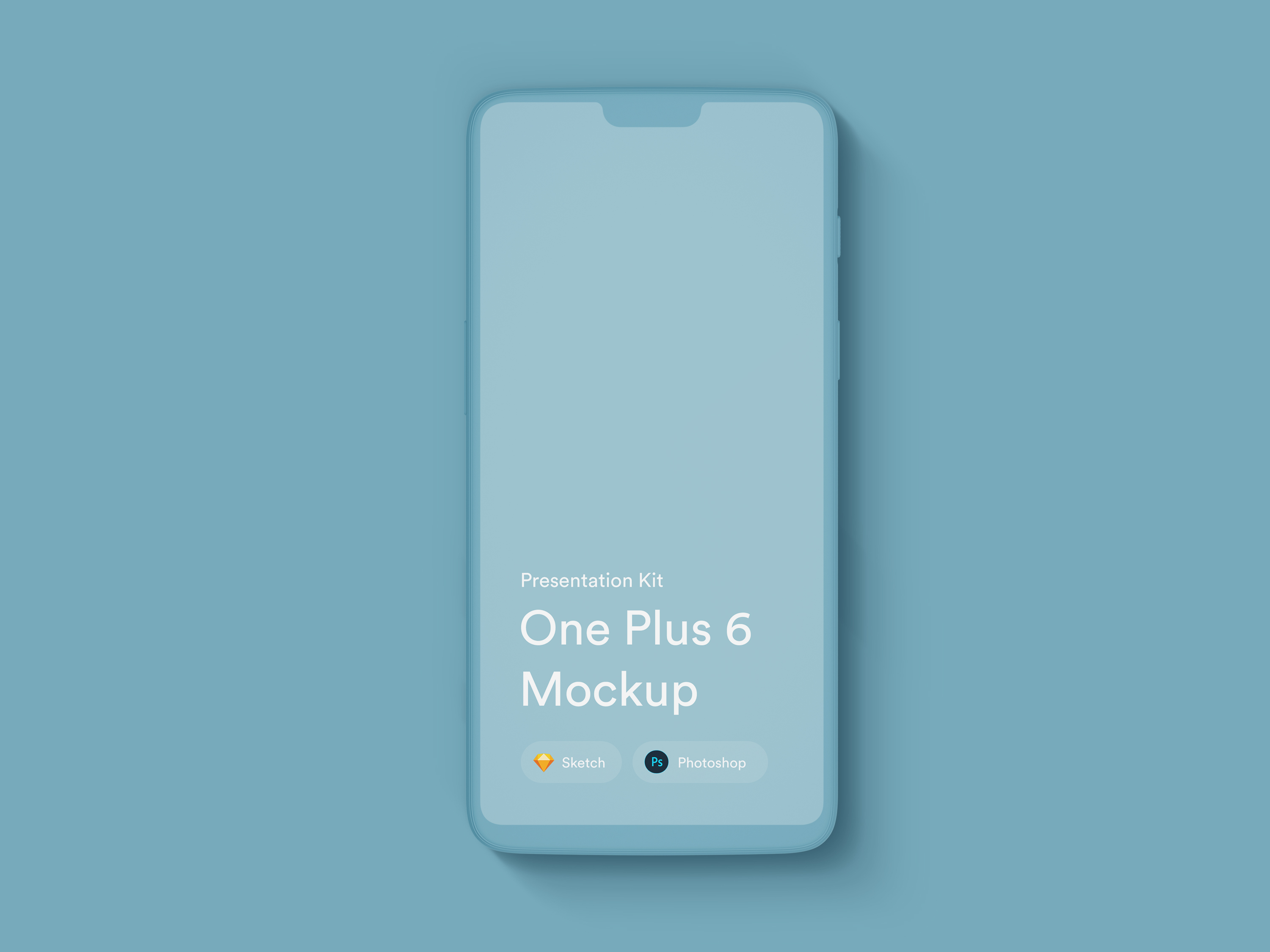 Download OnePlus 6 Mockups for Sketch and Photoshop