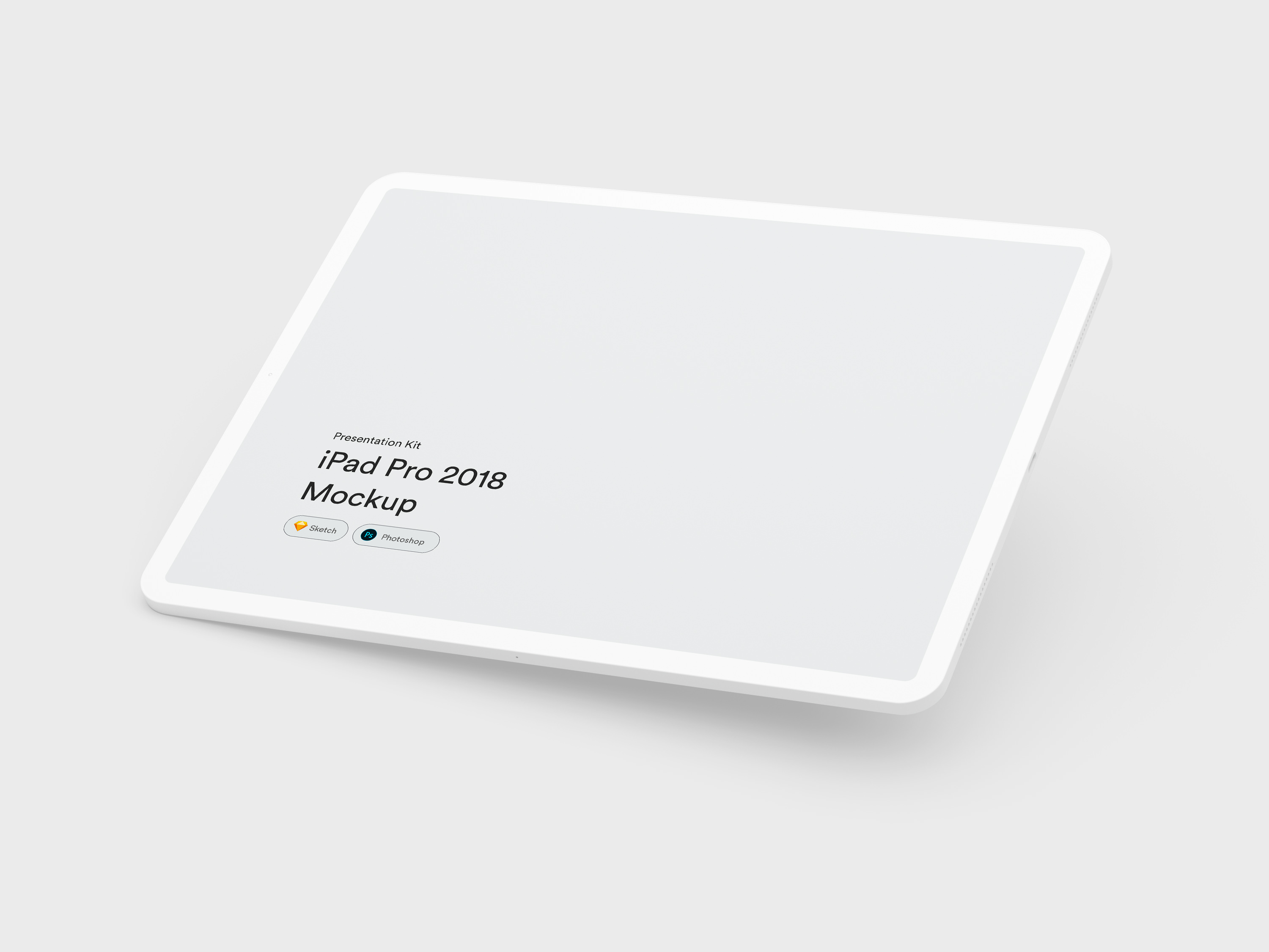 Download iPad 2018 Pro Mockups for Sketch and Photoshop