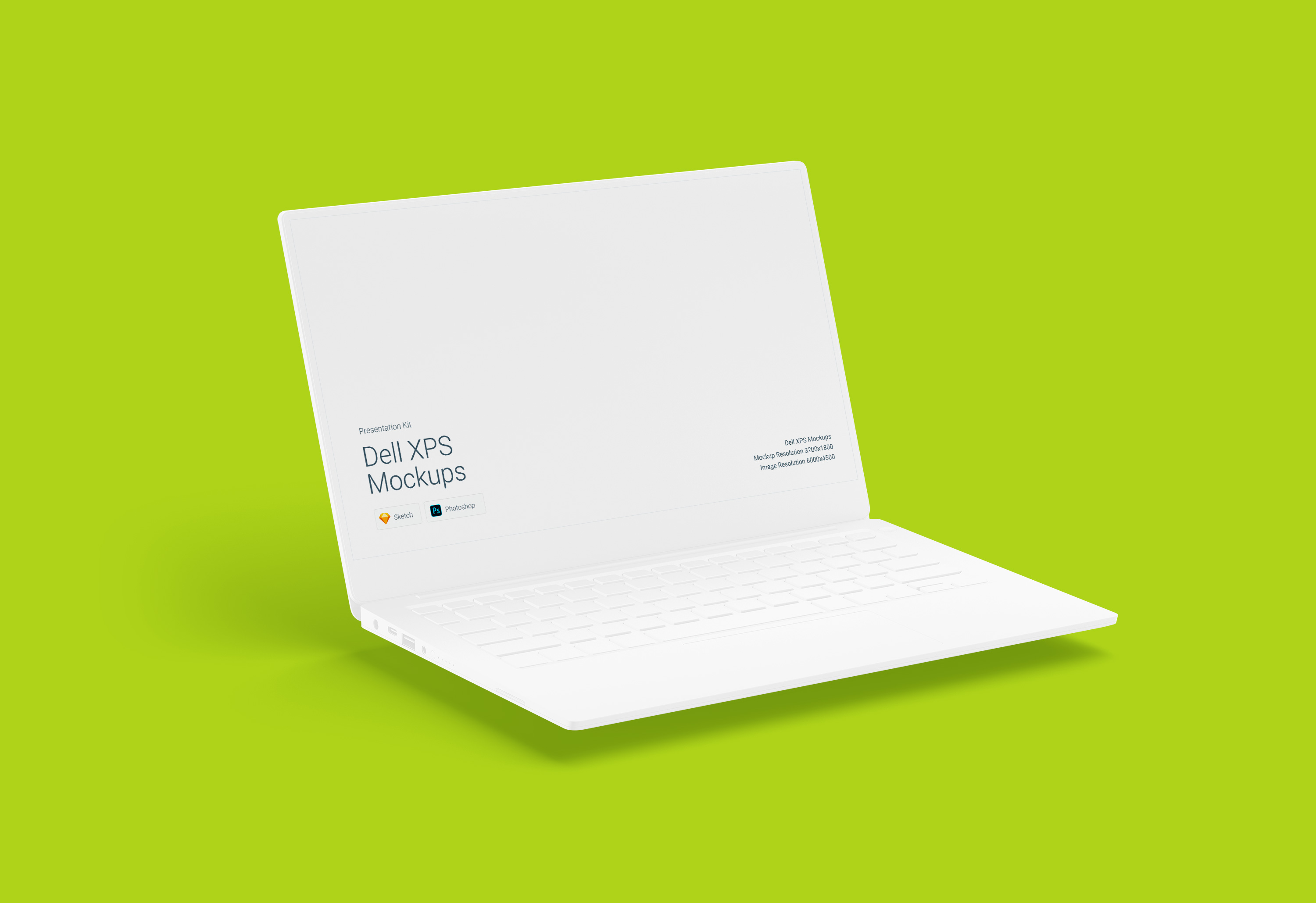 Download Dell XPS Mockup for Sketch and Photoshop