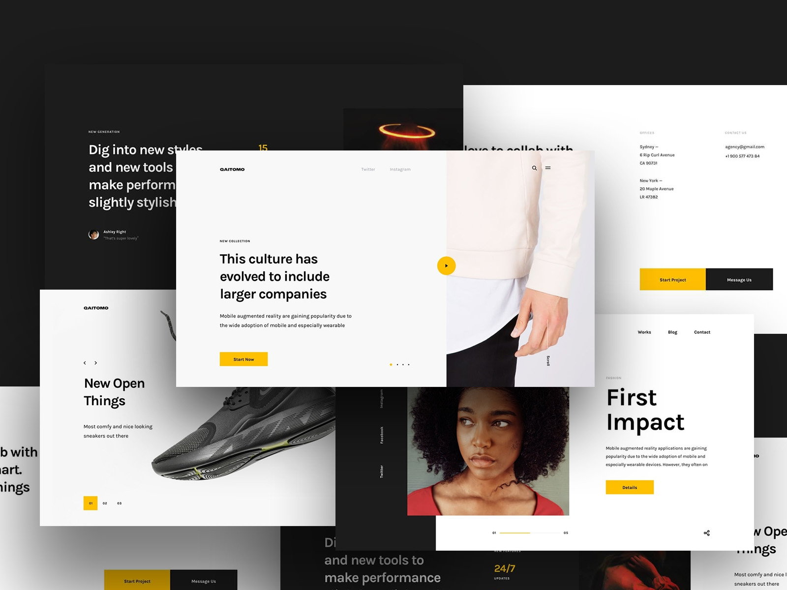 100+ trendy, stylish components for your web projects