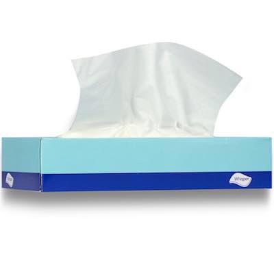 Facial Tissues 2ply 100 sheets