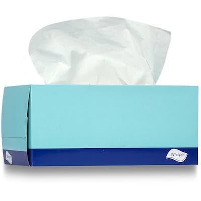 Facial Tissues 2 ply 180 sheets