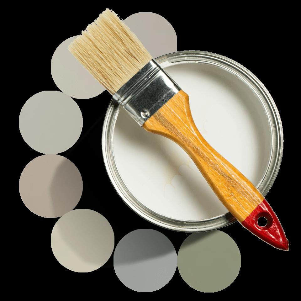 Välj mellan 7 väggfärger i kök.