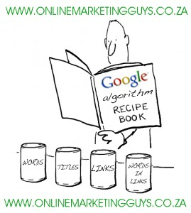 Google Algorithm Recipe Book by Online Marketing Guys