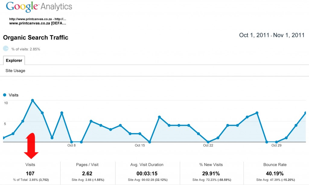 Google Analytics Graphc