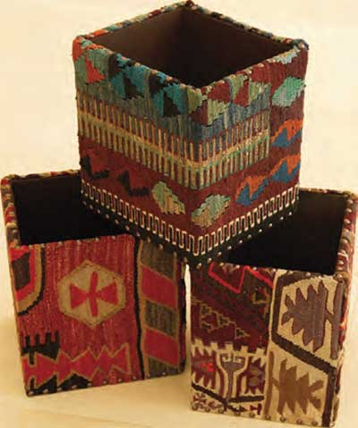Nomad Ideas Kilim Waste Bins