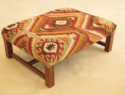 Nomad Ideas Kilim magazine stools