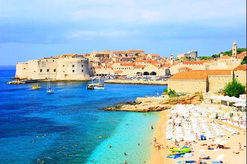 Banje beach, Dubrovnik