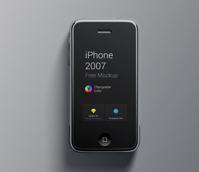 iPhone 1st Generation Mockup