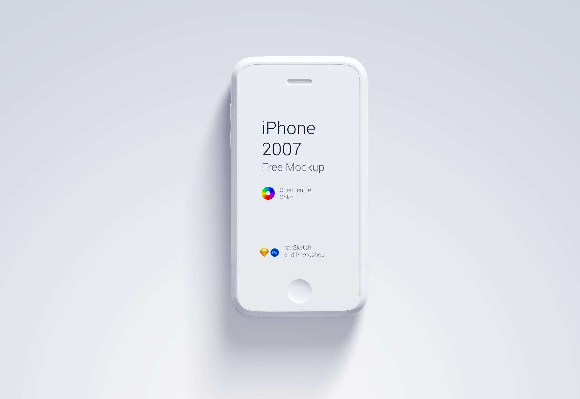 iPhone 1st Generation Mockup