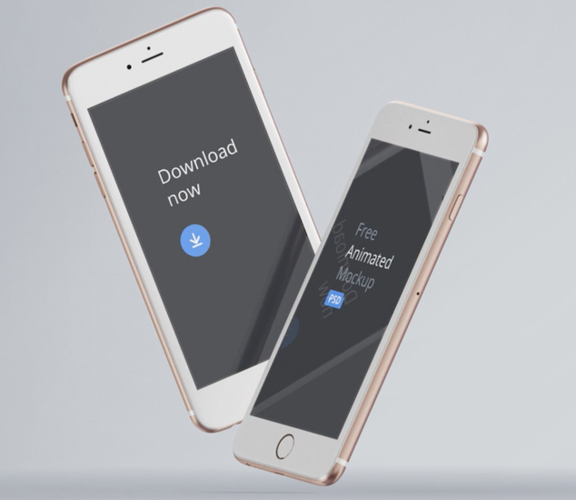 Video iPhones' Mockup