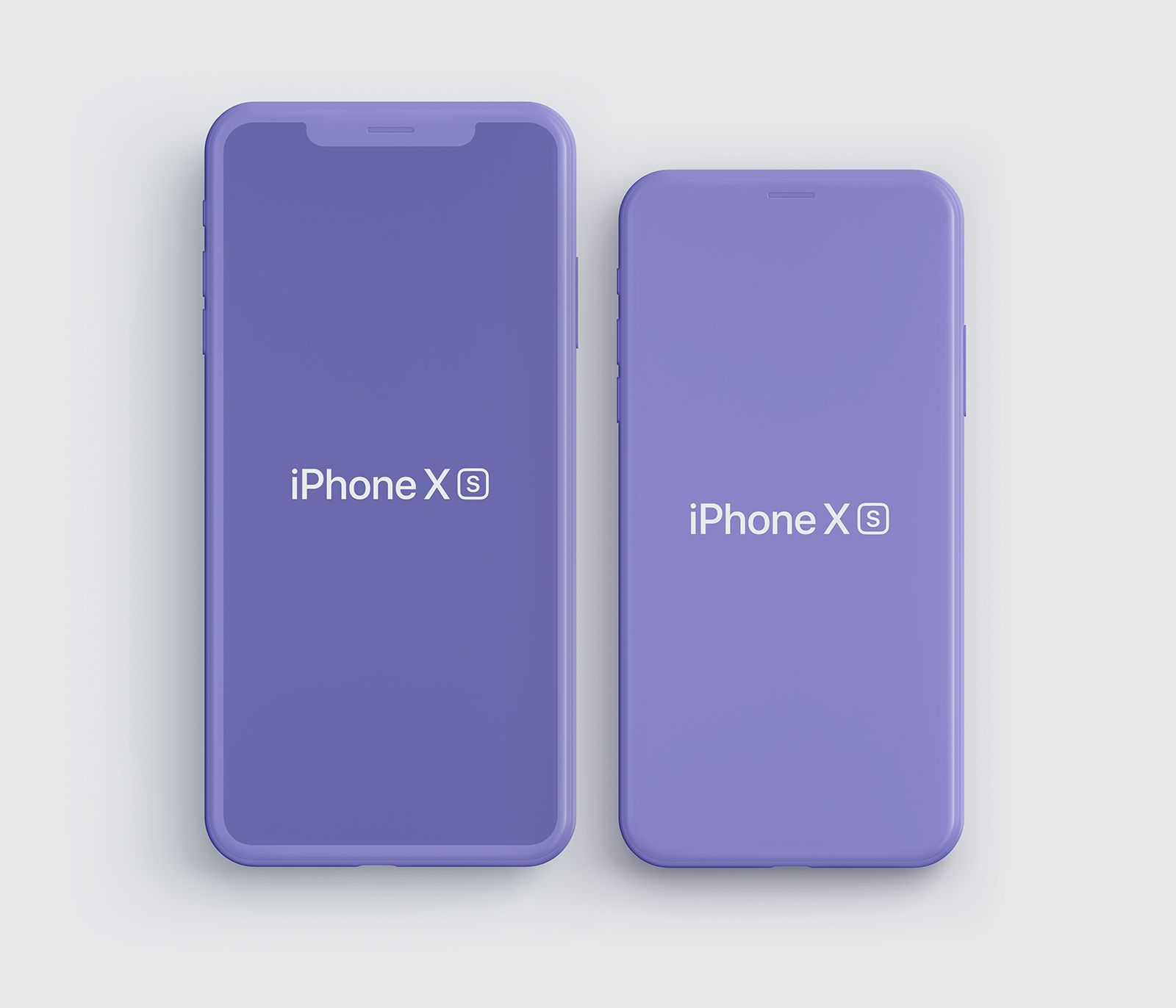 Free iPhone XS, iPhone XS Max Mockups