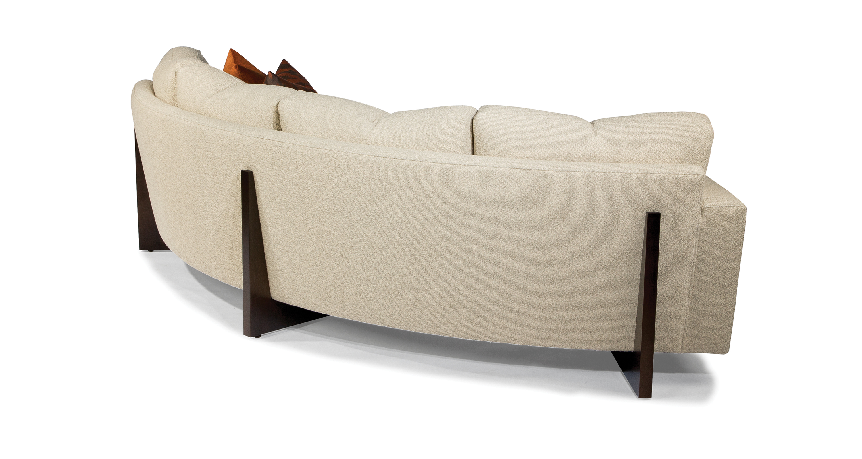 Curved Clip Sofa