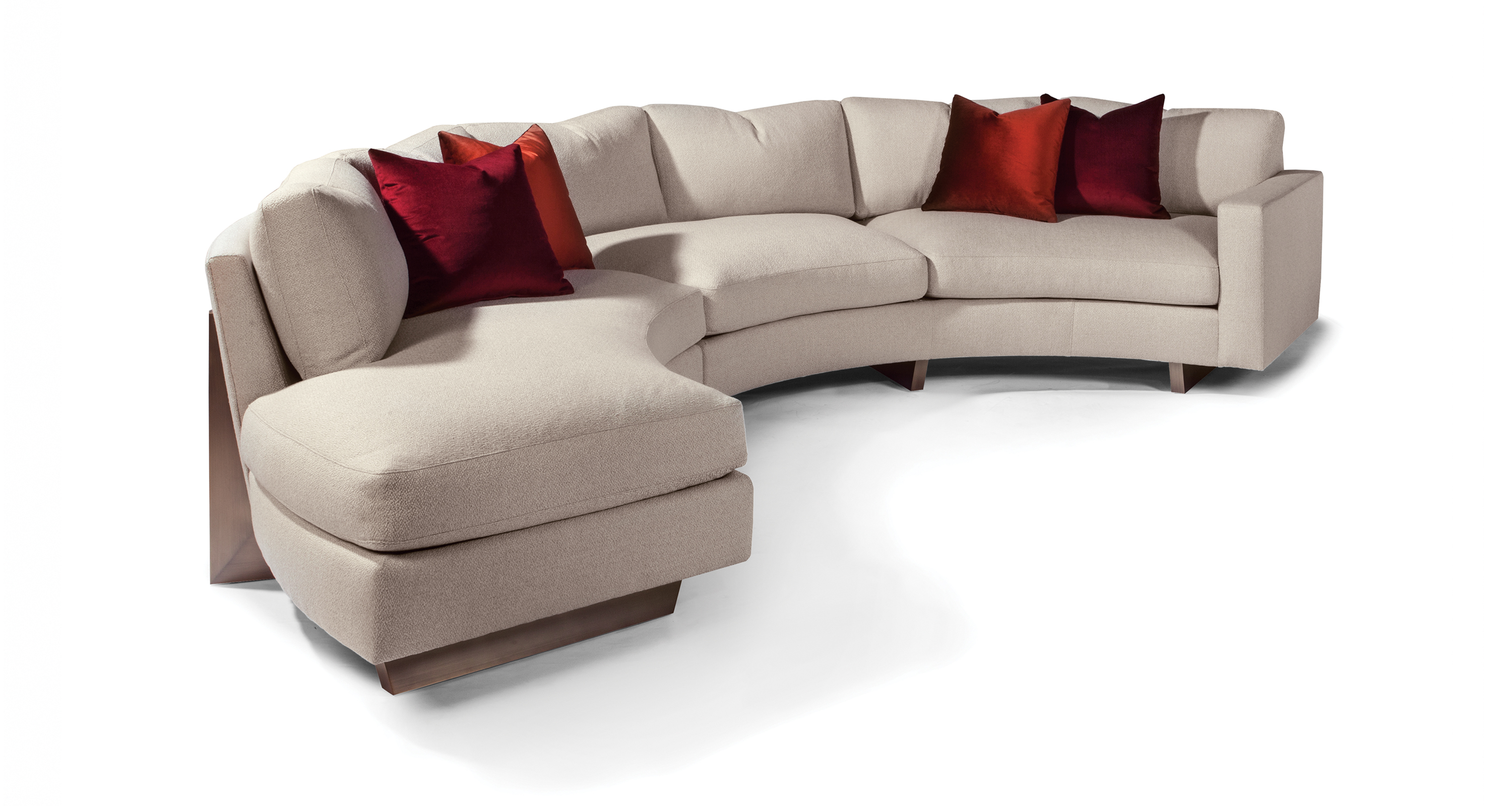 Toasted Clip Sectional