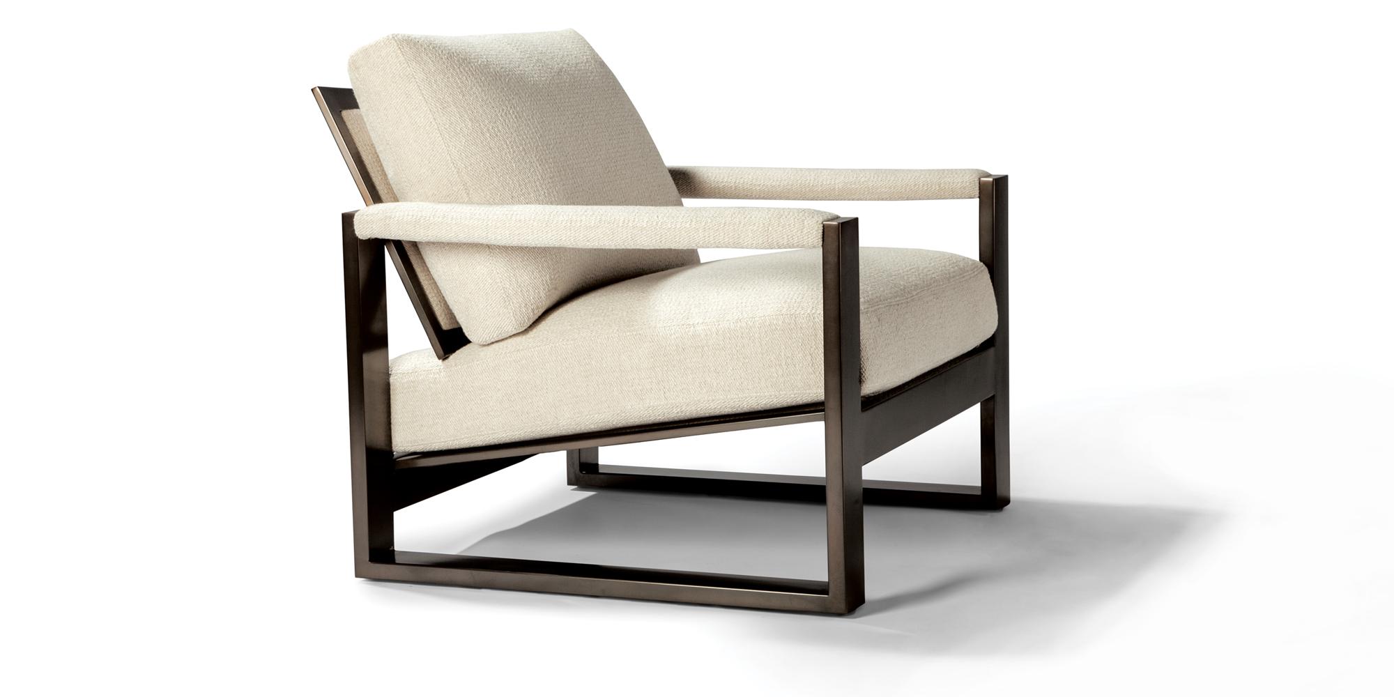 Chunky Milo Lounge Chair (Dark Bronze)