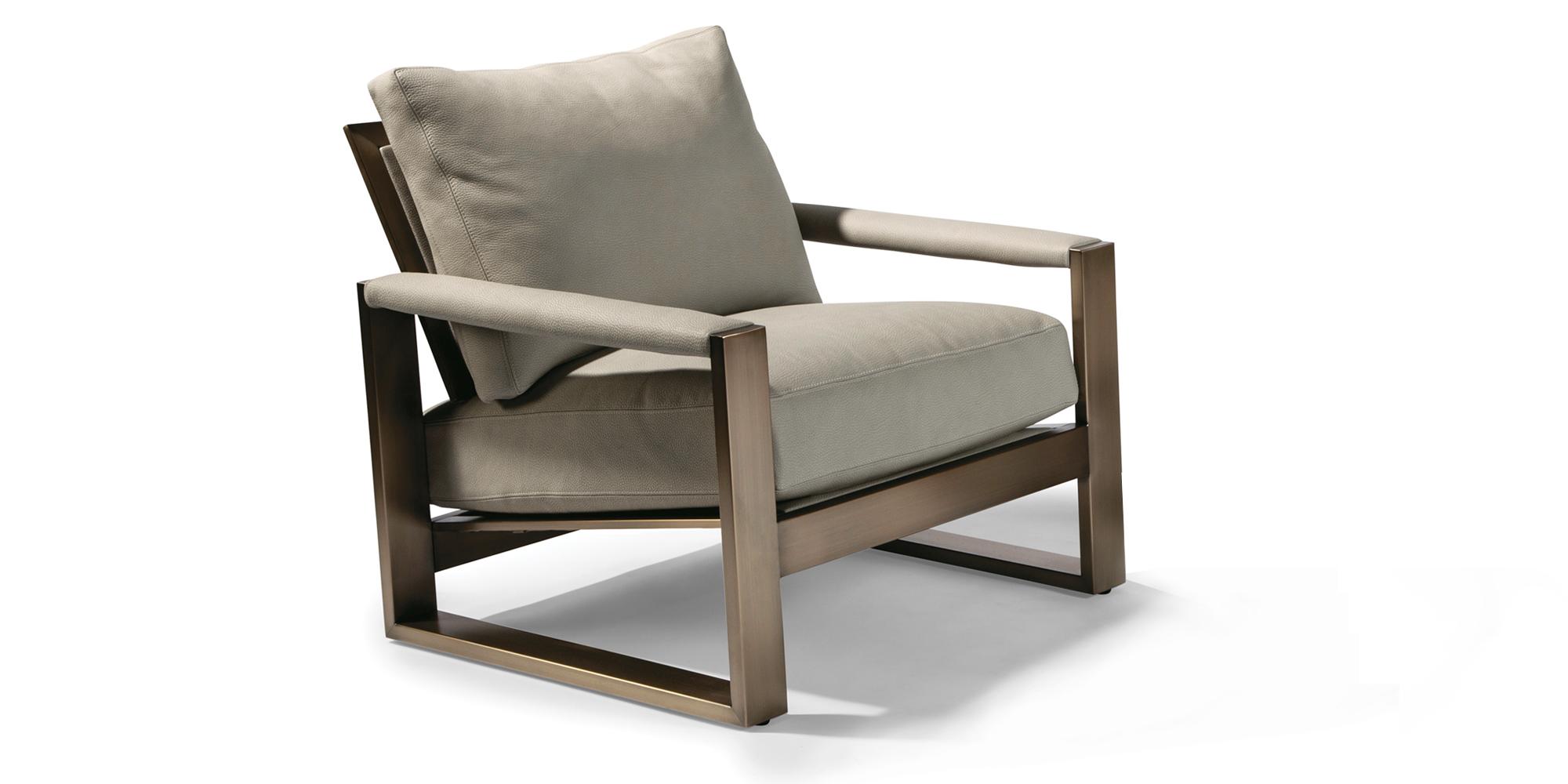 Chunky Milo Lounge Chair (Bronze)