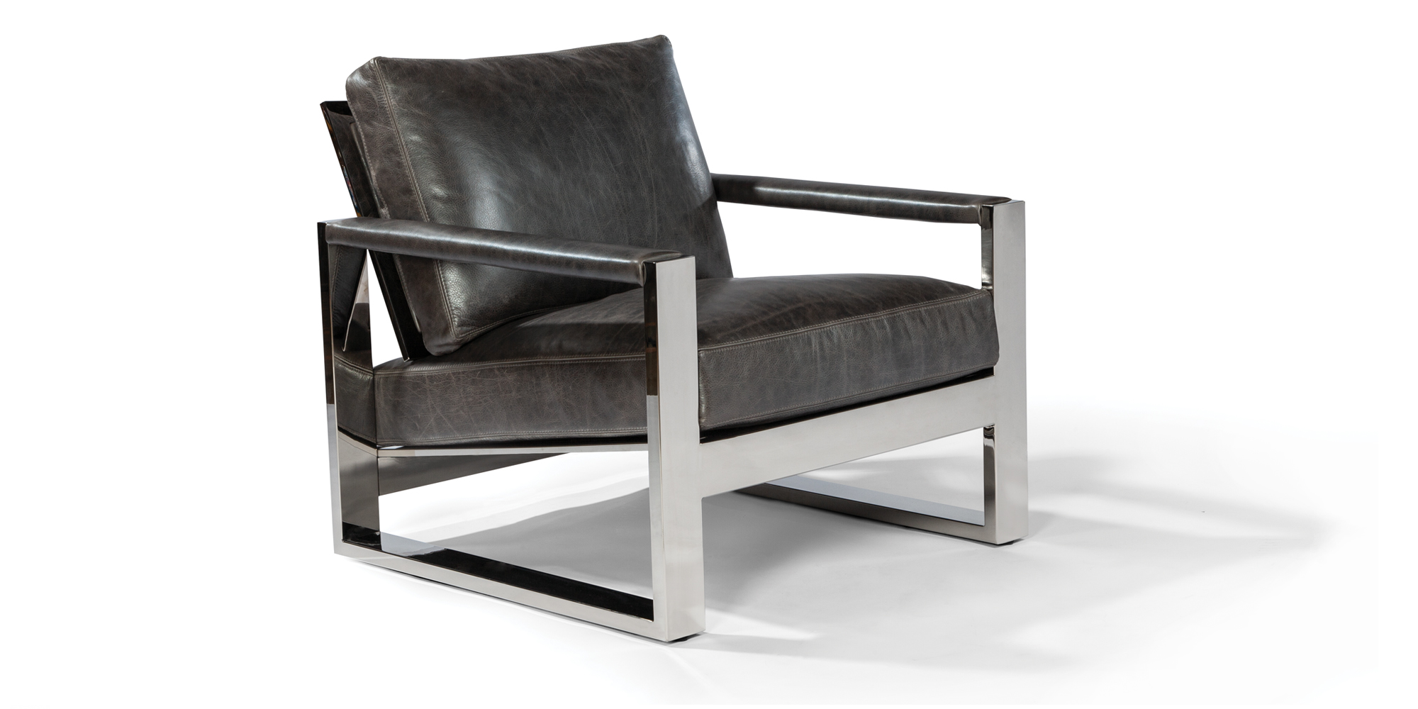 Chunky Milo Lounge Chair (Stainless)