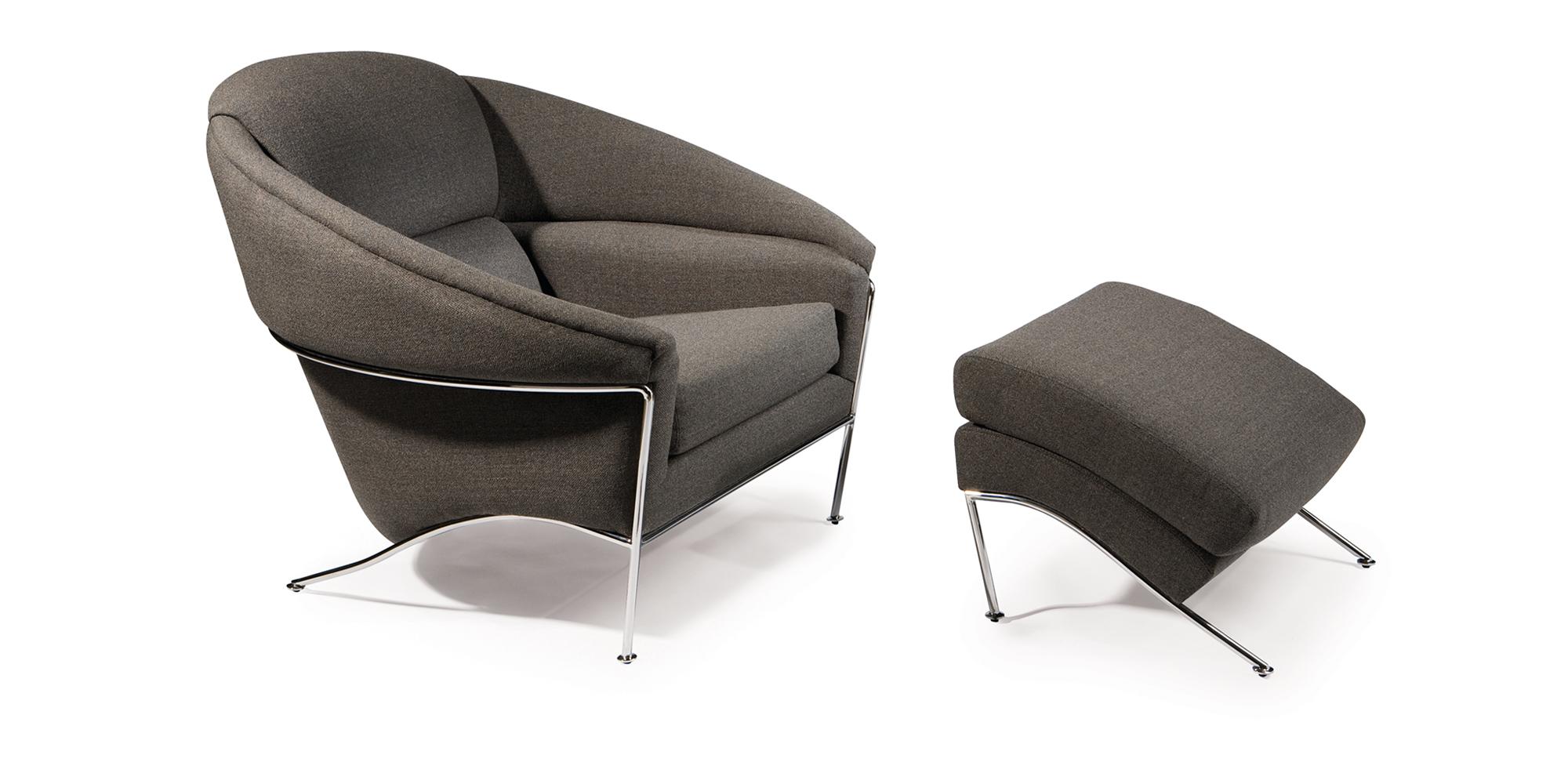 Boldido Lounge Chair and Ottoman