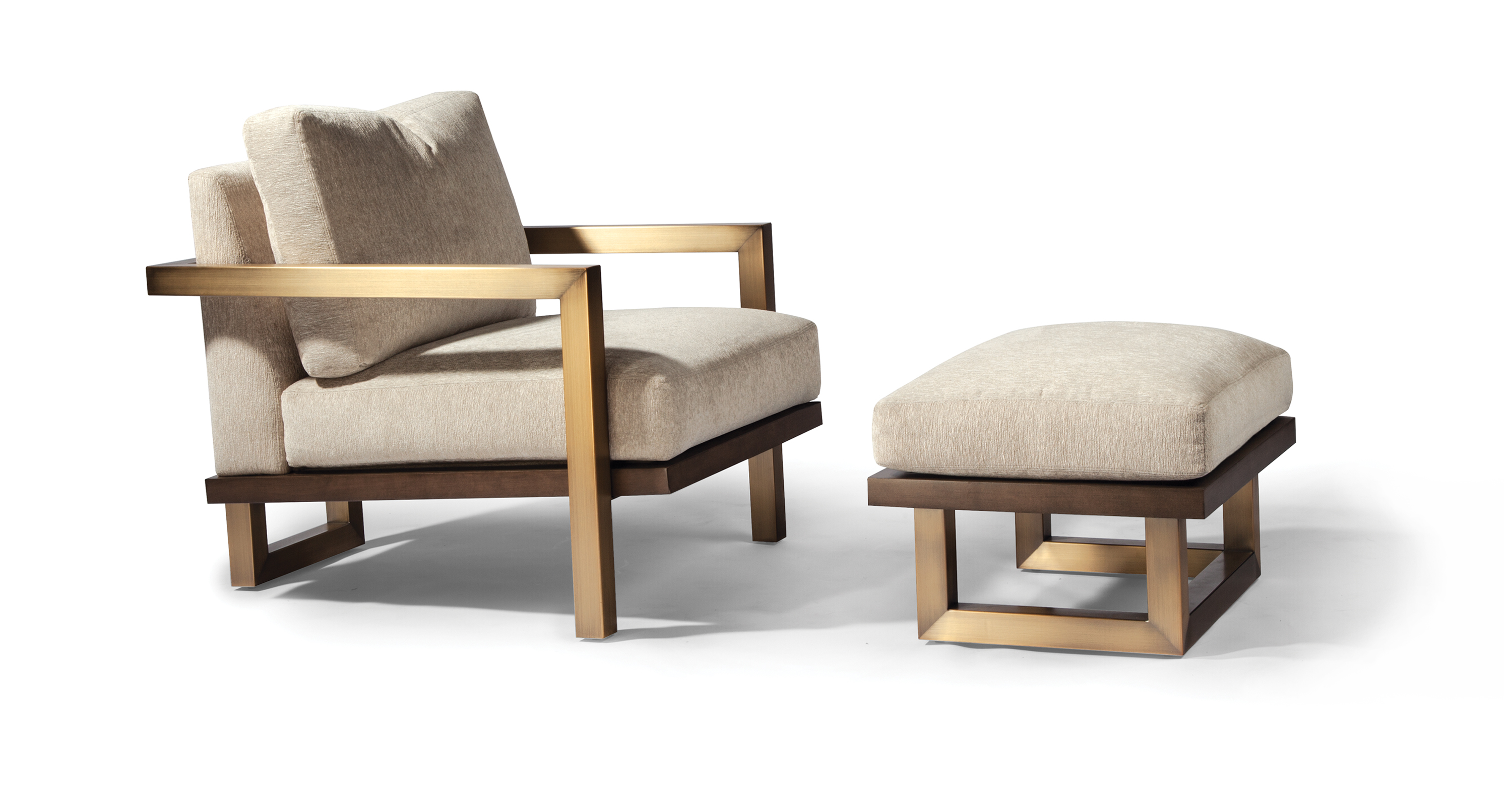 Lester Lounge Chair and Ottoman