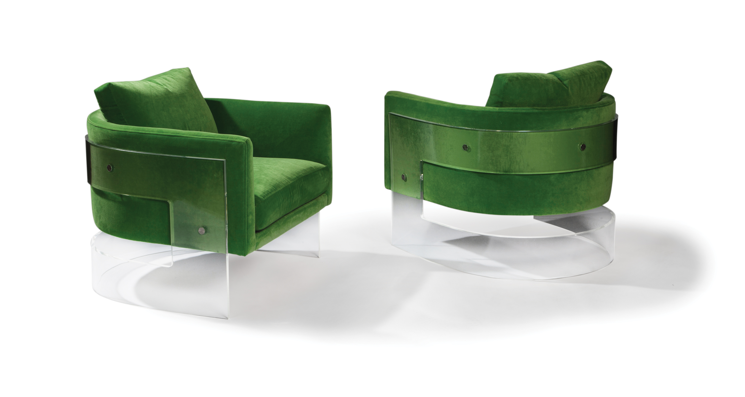 Bond Acrylic Lounge Chair