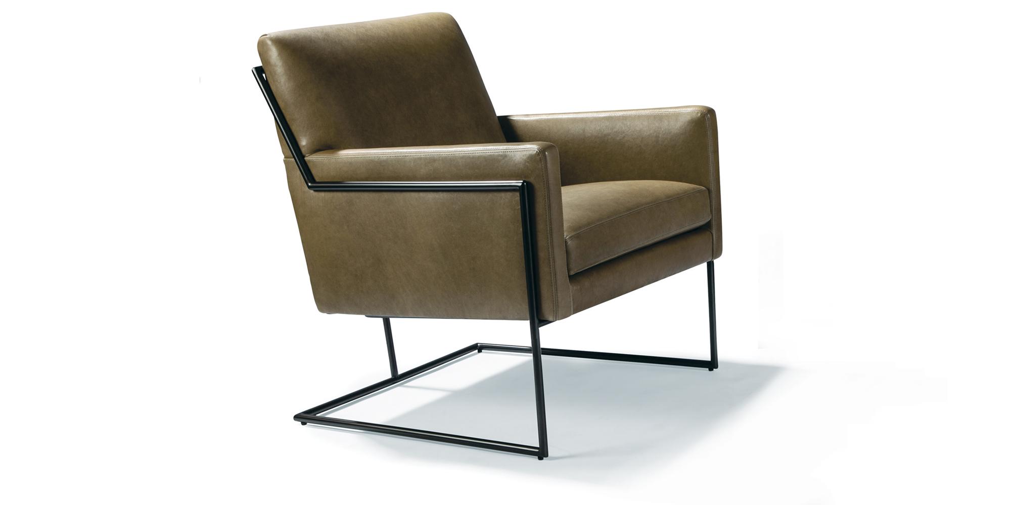 Hi-Wire Lounge Chair (dark bronze)