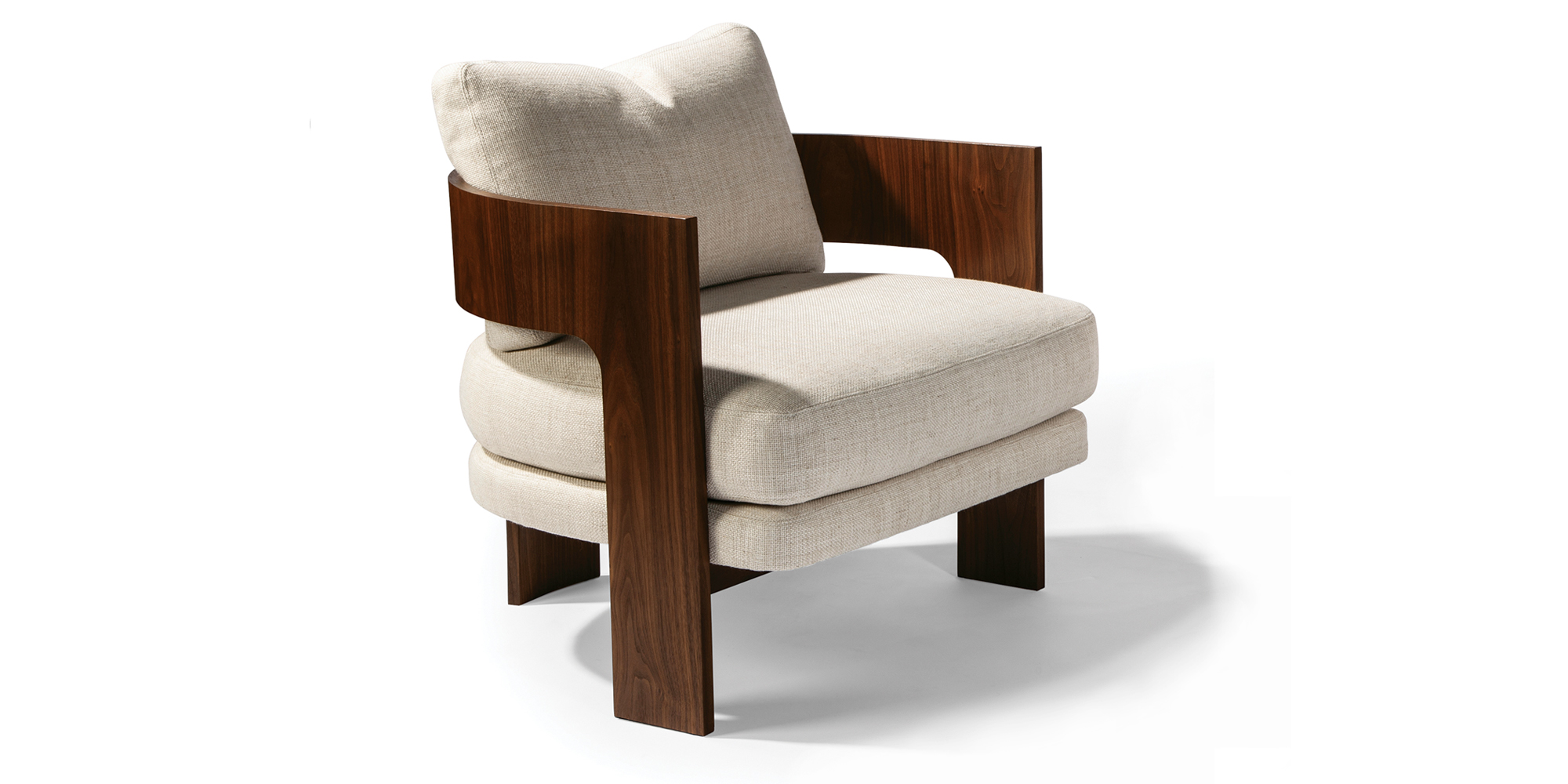 On 3 Lounge Chair (Walnut)
