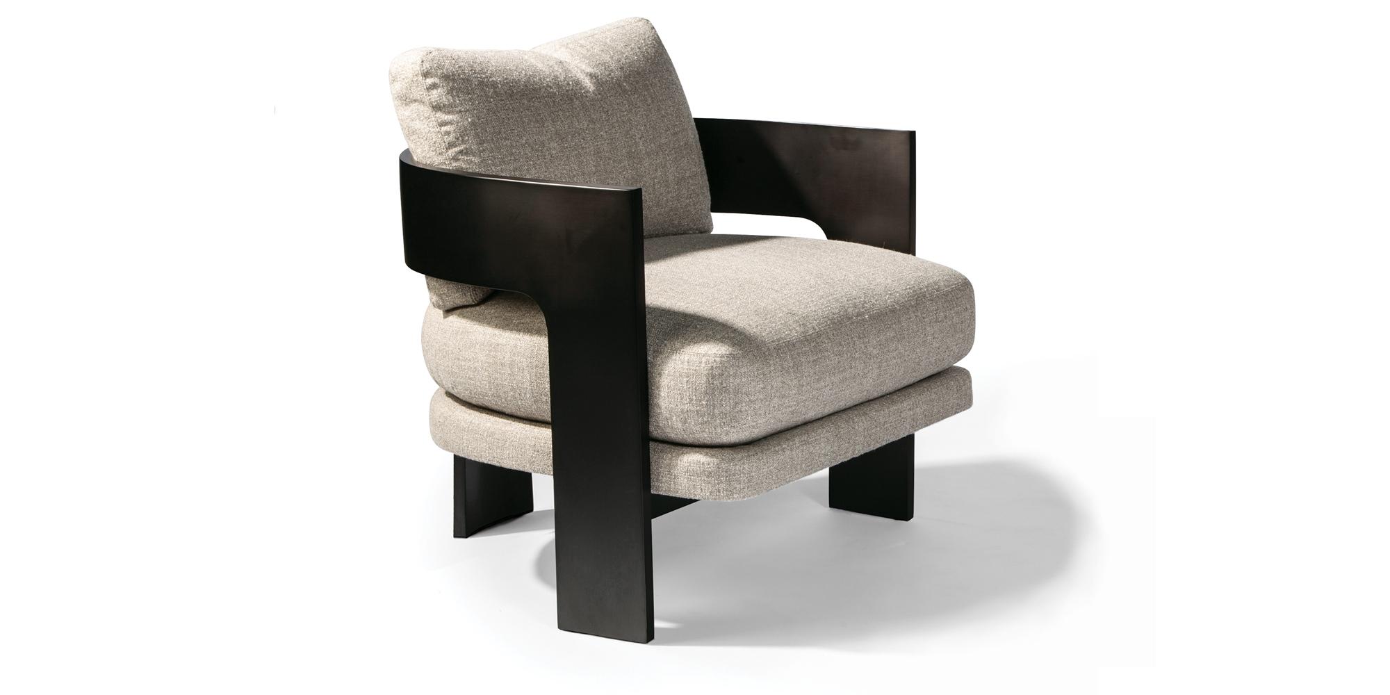 On 3 Lounge Chair (Dark Bronze)