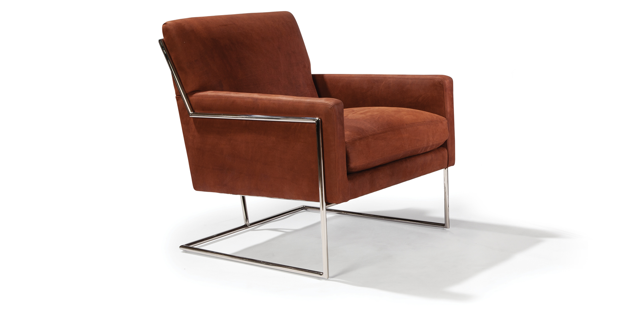 Hi-Wire Lounge Chair (polished stainless)