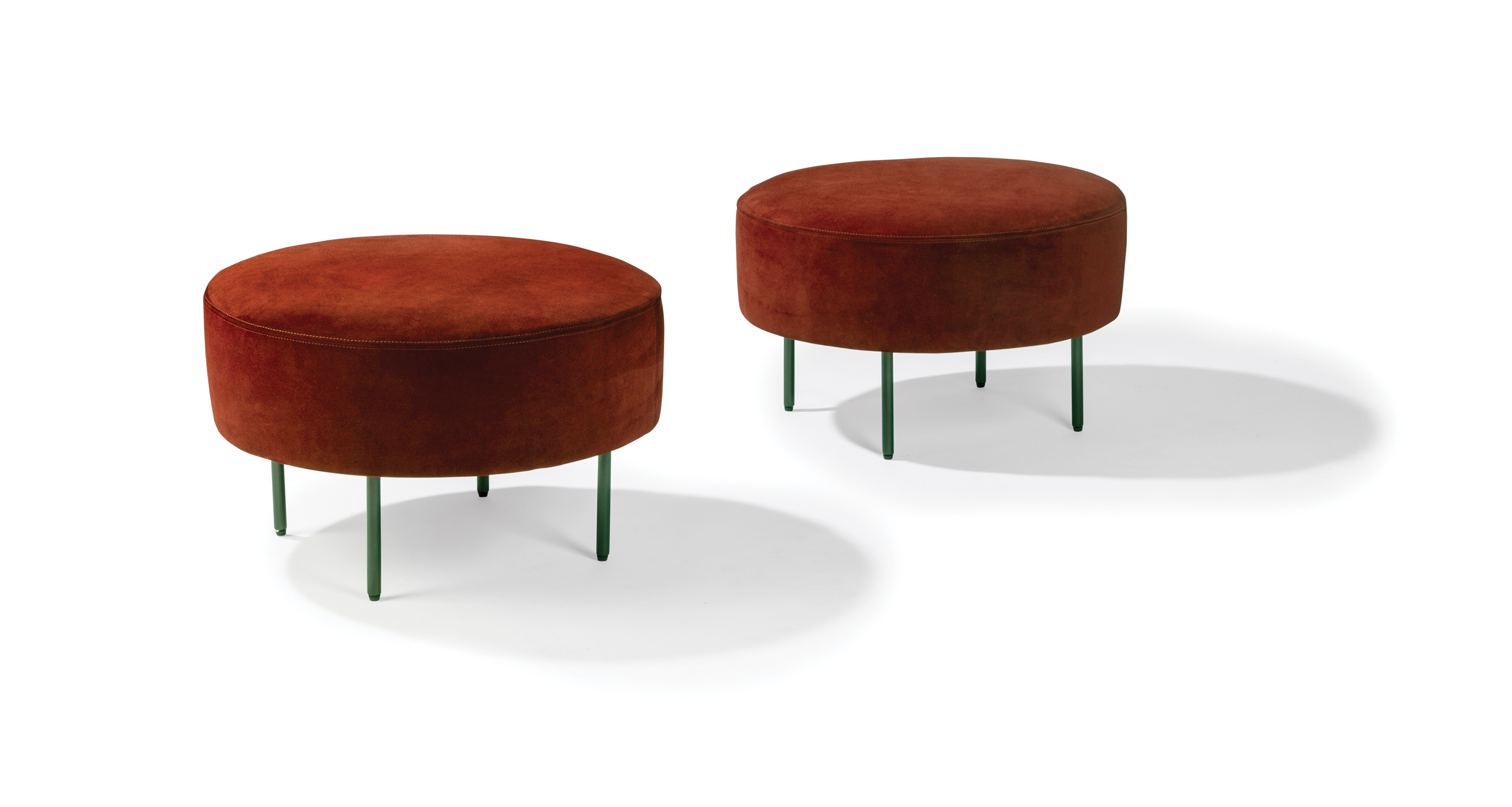 Fantastic Slice Small Round Ottoman Caraccident5 Cool Chair Designs And Ideas Caraccident5Info