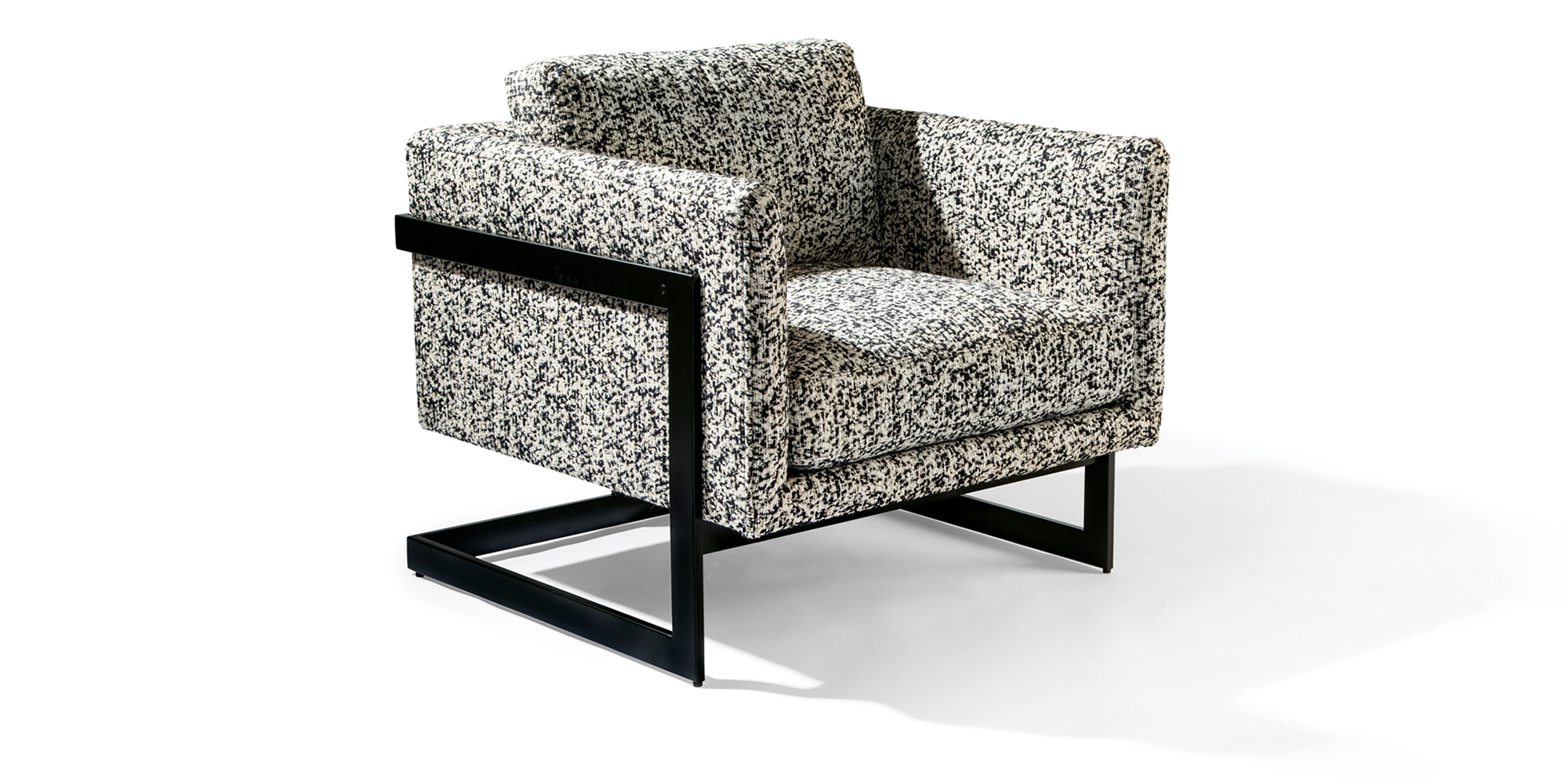 989 Design Classic Lounge Chair (Noir Finish)