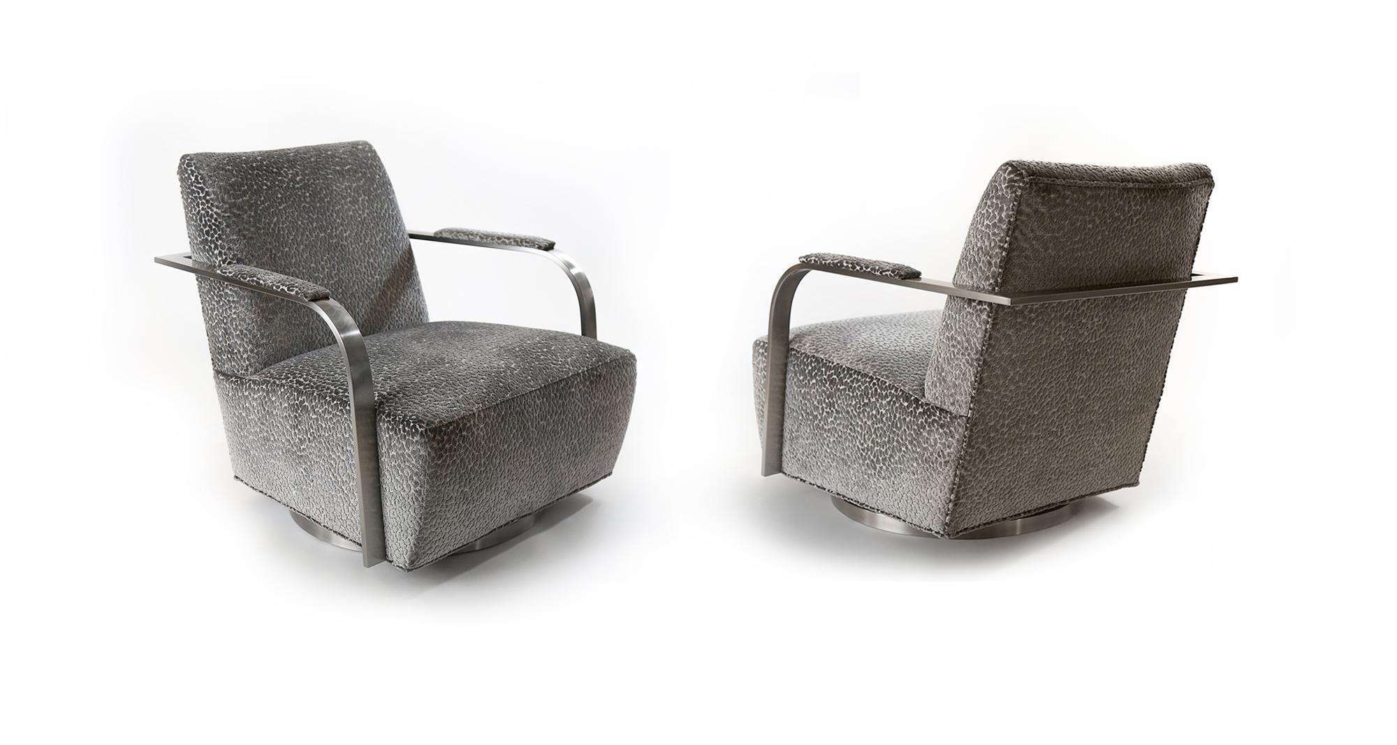 Zac Swivel Chair