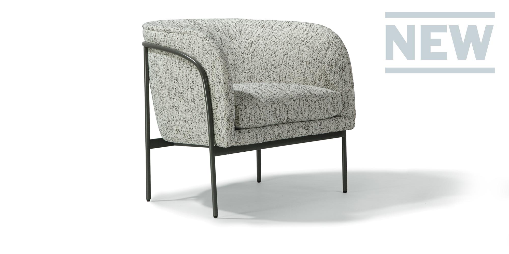 Rod Chair (Gray Powder Coat)
