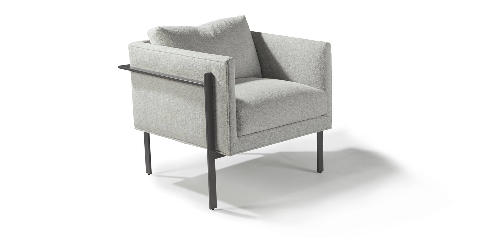 Drop In Lounge Chairs (Gray Powder Coat)