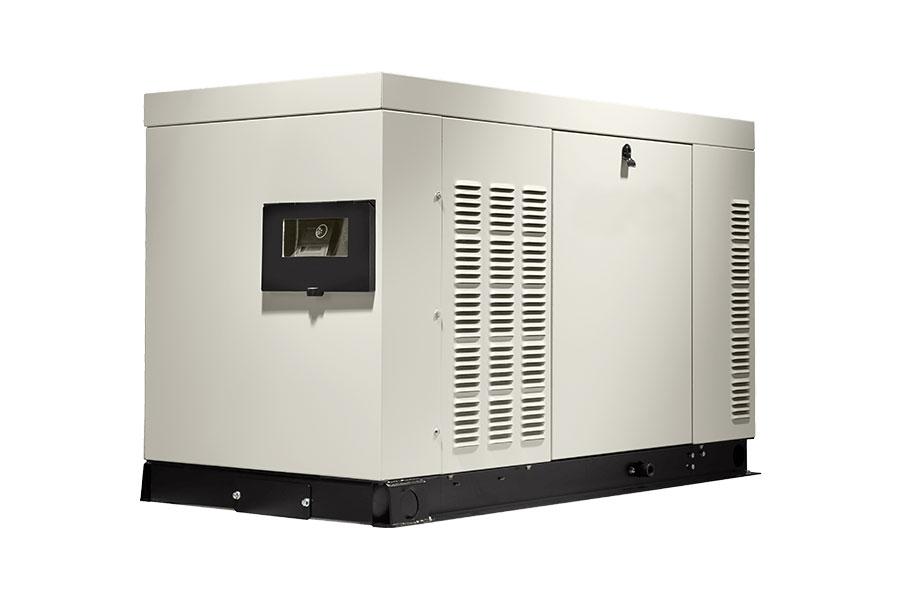 Whole house generator large system