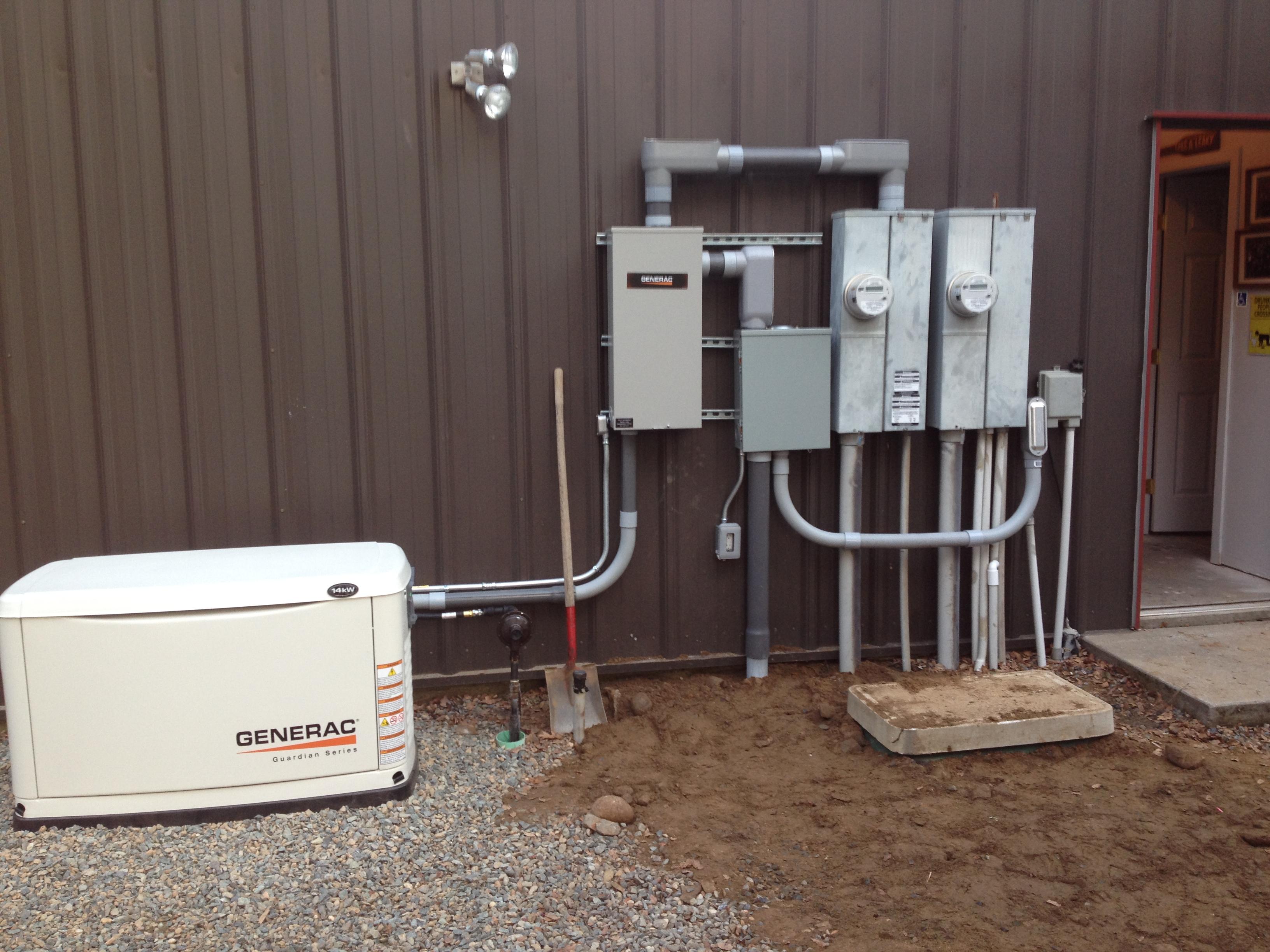 Whole house generator system