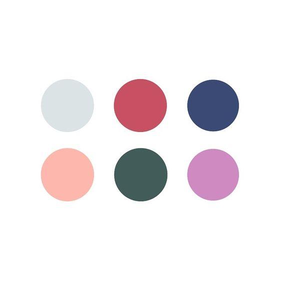 color palette caitlin hottinger design