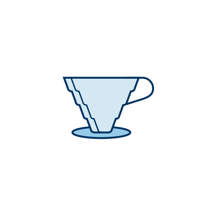 coffee icon design by caitlin hottinger