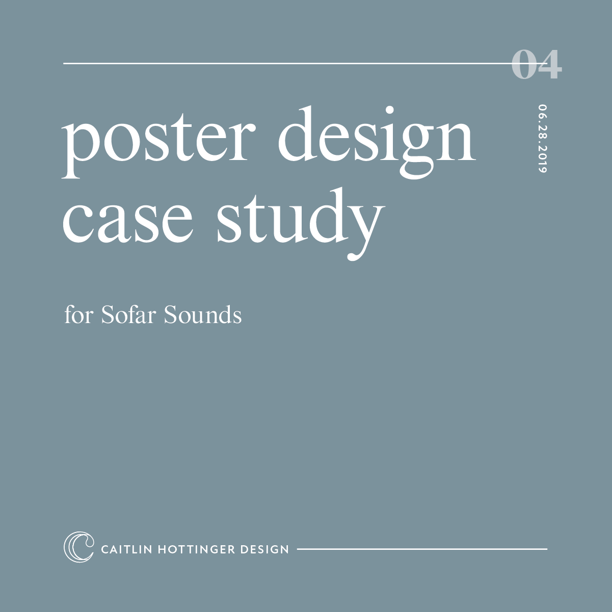 poster case study caitlin hottinger design blog