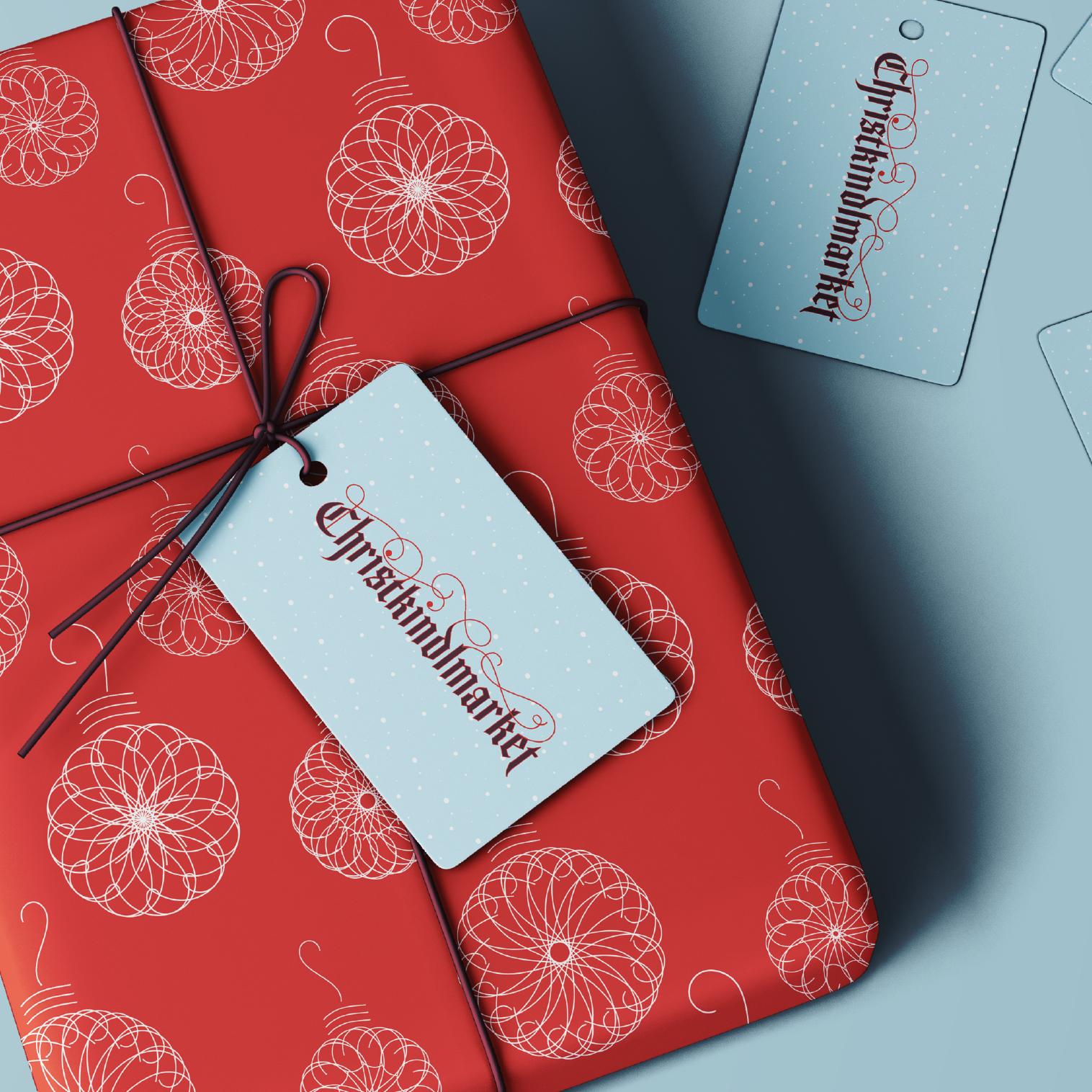 Branding for Christkindlmarket — Designed by Caitlin Hottinger