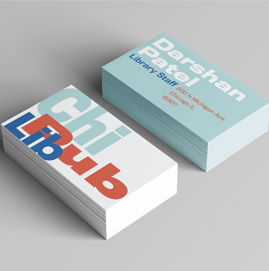 Branding for the Chicago Public Library Designed by Caitlin Hottinger