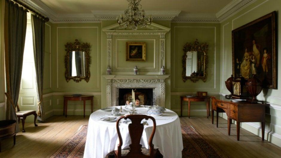 Georgian style house interior design   National Trust