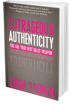 Outrageous Authenticity Book Cover
