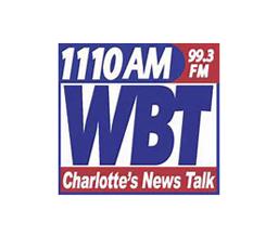 WBT Charlotte's news talk logo