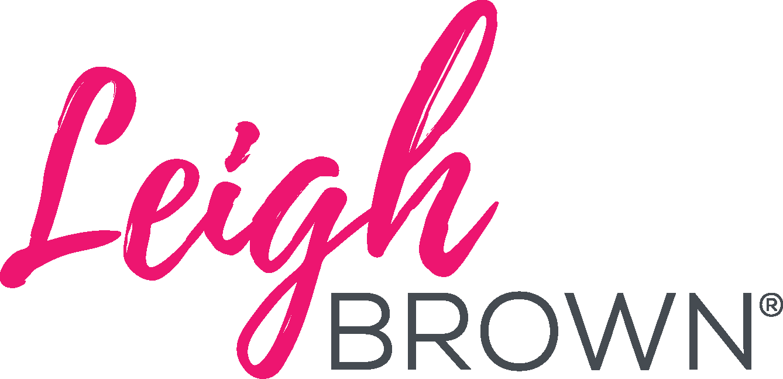 Leigh brown logo