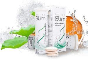 3.Viên sủi giảm cân Detox Slim eo gọn – dáng thon – vòng 1 căng tròn