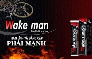9.Tăng cường sinh lý nam giới hiệu qủa với viên sủi Wake Man