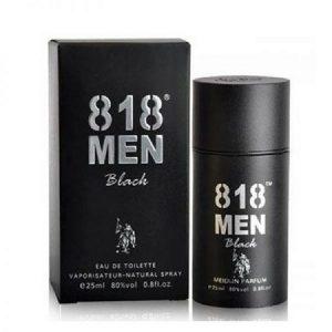 9.Thuốc kích dục dạng nước hoa 818 Men Black