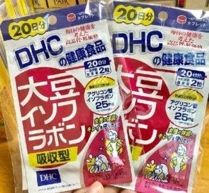 10. Tăng sinh lý nữ bằng tinh chất mầm đậu nành DHC – Nhật Bản