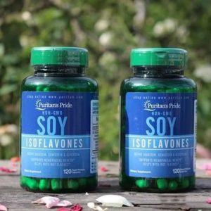 8. Mầm đậu nành NON-GMO Soy Isoflavones - Thuốc giúp phụ nữ lên đỉnh